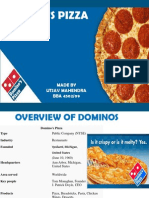 domino pizza operation management overview