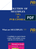 Evolution of Multiplex