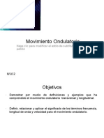 Movimiento Ondulatorio 1