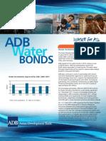 ADB Water Bonds Brochure 2012