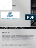 Signet Products Pvt. Ltd. - Profile