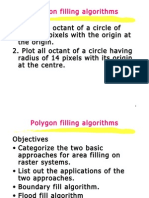 Poygon Filling Algorithm
