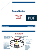 Basics of Cavitation in Pumps