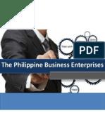 The Philippine Business Enterprise