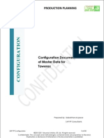 Configuration Documents of PP_Towerex