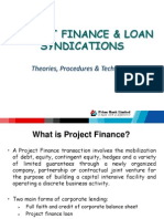 Project Finance and Loan Syndication Procedures