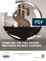 Guideline for Fuel Saving Measures on Bulk Carriers