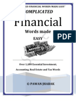 Complicated Financial Words Made Easy .