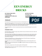 green energy bricks