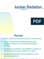 Chapter 3 Nuclear Radiation