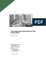 Cisco Application Networking for SAP Design Guide