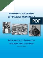 Comment la Polynesie est devenue française