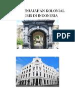 Masa Penjajahan Kolonial Inggris Di Indonesia