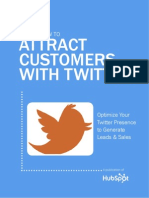 Marketing KIT Twitter Customers Attraction