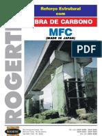 Manta de Fibra de Carbono MFC