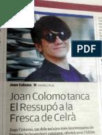 Joan Colomo tanca El Ressupó a la fresca de Celrà
