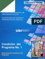 Condiciones Del Programa