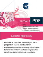 KAEDAH BERFOKUS