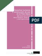Derechos humanos y construcción de paz en el País Vasco