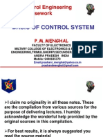 Basic of Control System