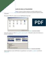 Gestión de datos en PowerBuilder