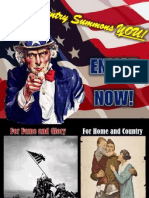Example of USA WW1 Poster