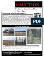 New Haven Agriculture Land Auction