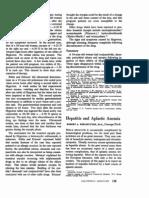Anemia Aplastica Si Hepatita