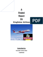 Service of the Kingfisher Airlines