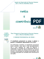 Creas - Papeis e Competencia