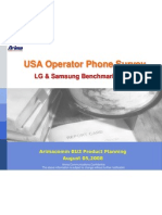 LG vs Samsung Benchmarking Analysis _pa1