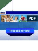Proposal for BU1