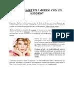 Taylor Swift en Amorios Con Un Kennedy