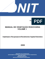 Manual de Vegetacao Rodoviaria - VOLUME 1