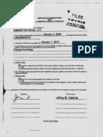 JG Taxgroup Dissolution Galante Tax Group