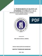 Cover-proposal Permohonan Bantuan Biaya Pendidikan Strata i