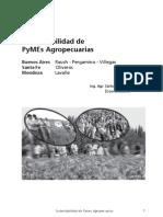 Sustentabilidad de PyMEs Agropecuarias