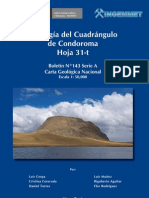 Geologia de la Hoja de Condoroma