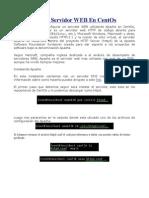 Manual Servidor WEB
