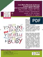 """Communiqué de """"La fête à Boby"""" de Jean-Marie Machado (BEE055)"""
