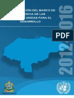 plan de acción del marco de asistencia de las naciones unidas para el desarrollo