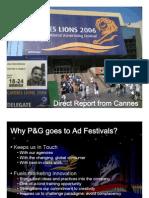 Cannes Festival Report Alan Guendelman