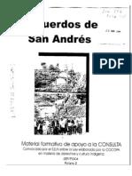 Acuerdos de San Andres-Resumen
