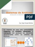 1- Sistemas de Archivos