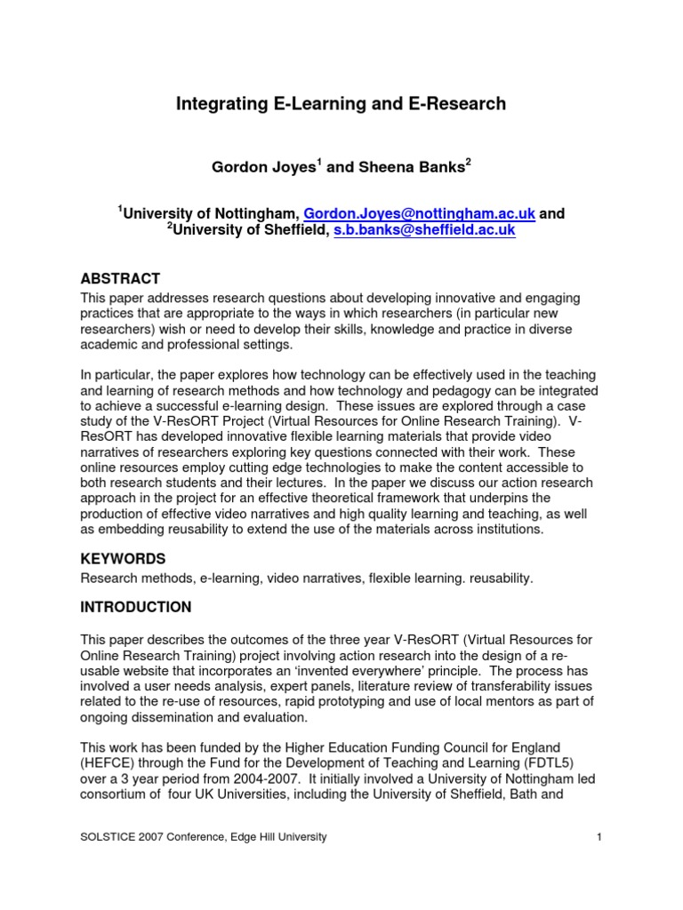 local literature about e learning