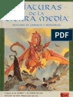 Criaturas de La Tierra Media - Bestiario de Animales y Mounstruos
