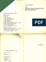 LEVI-STRAUSS Las Estrcuturas Elementales Cap II y V