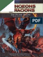 D&D 4th Edition the Plane Below