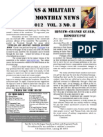Veterans & Military Families Monthly News-August 2012