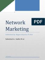 Network Marketing Regan